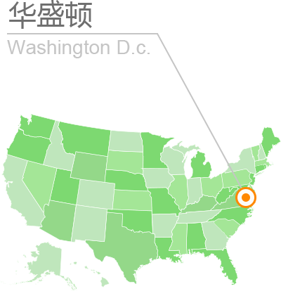 华盛顿位置