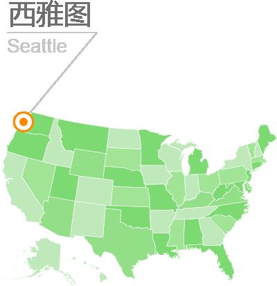 西雅图位置
